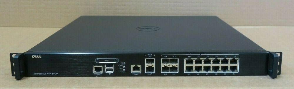 Dell / SonicWALL NSA 5600 01-SSC-3833 Network Security Appliance 1RK26-0A4